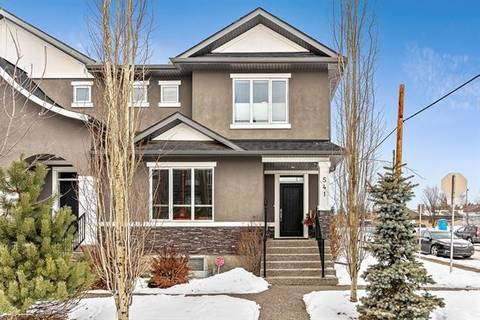 Townhouse for sale at 541 34 St Northwest Calgary Alberta - MLS: C4285446