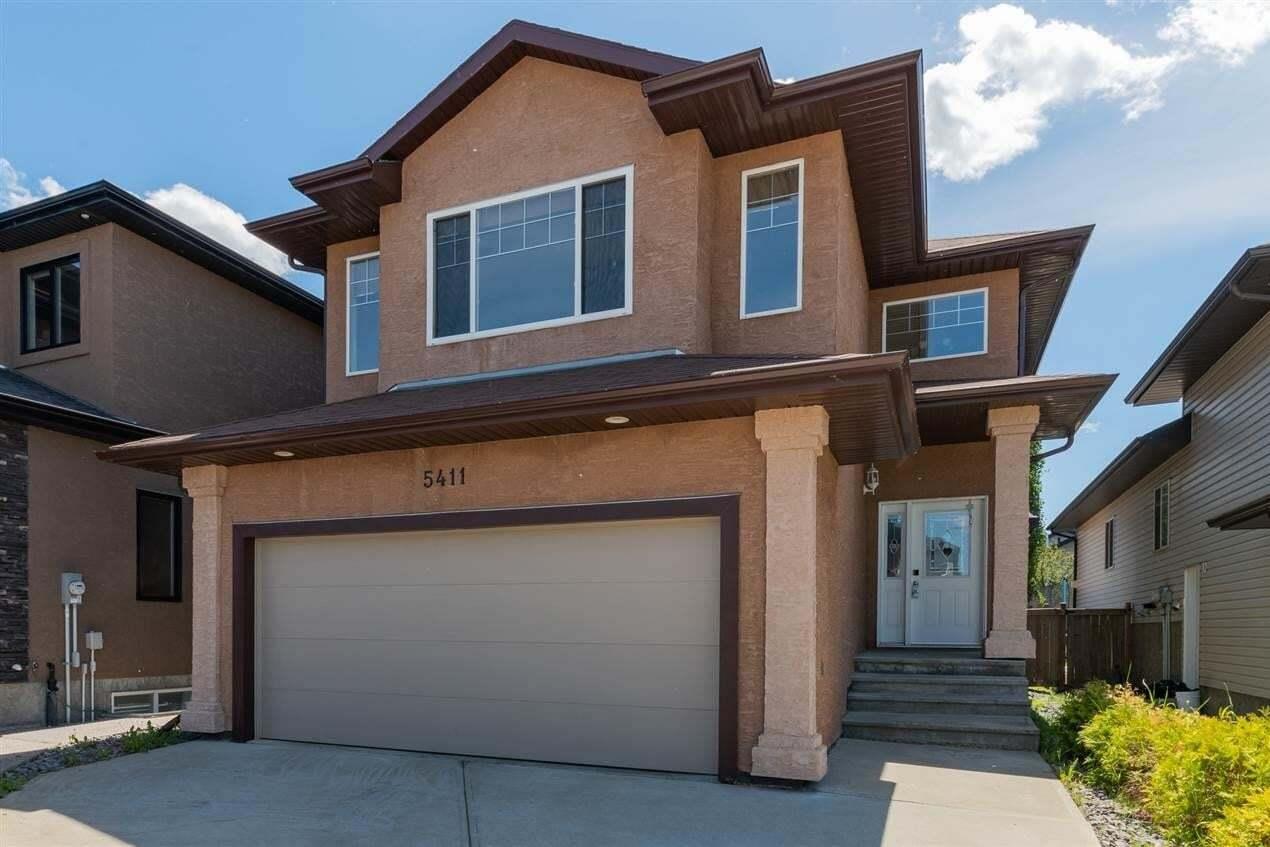 House for sale at 5411 162b Av NW Edmonton Alberta - MLS: E4203316