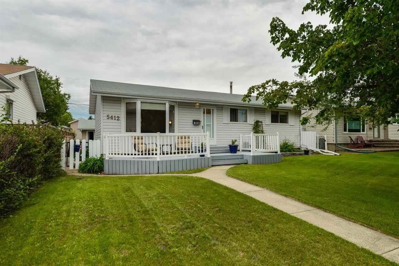 House for sale at 5412 94a Av NW Edmonton Alberta - MLS: E4203725