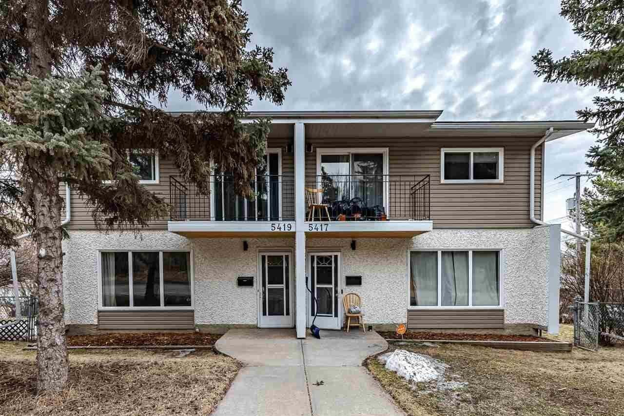 Townhouse for sale at 5417 & 5419 106 St NW Edmonton Alberta - MLS: E4197176