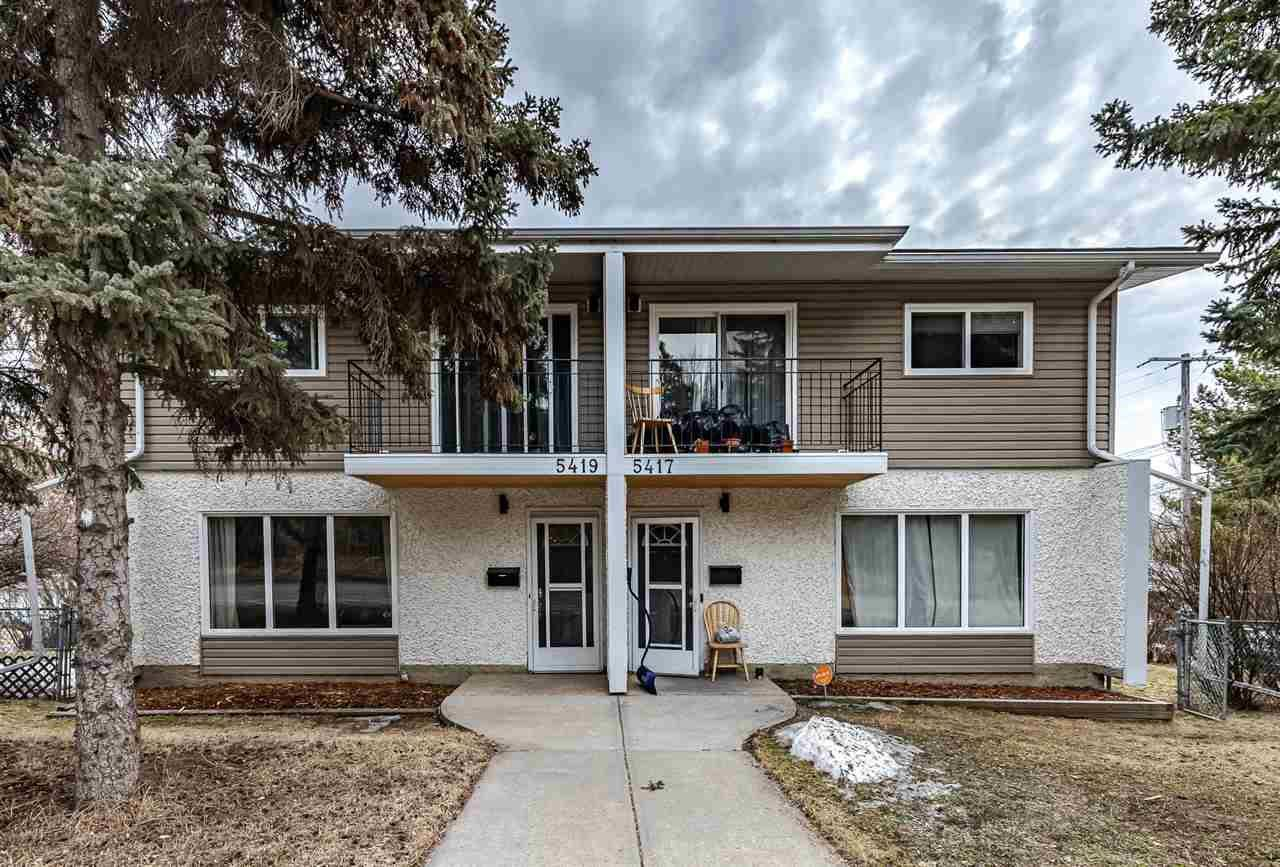 Townhouse for sale at 5419 106 St Nw Unit 5417 Edmonton Alberta - MLS: E4182678