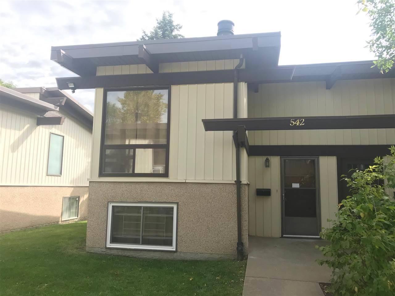 Townhouse for sale at 542 Lee_ridge Rd Nw Edmonton Alberta - MLS: E4194978