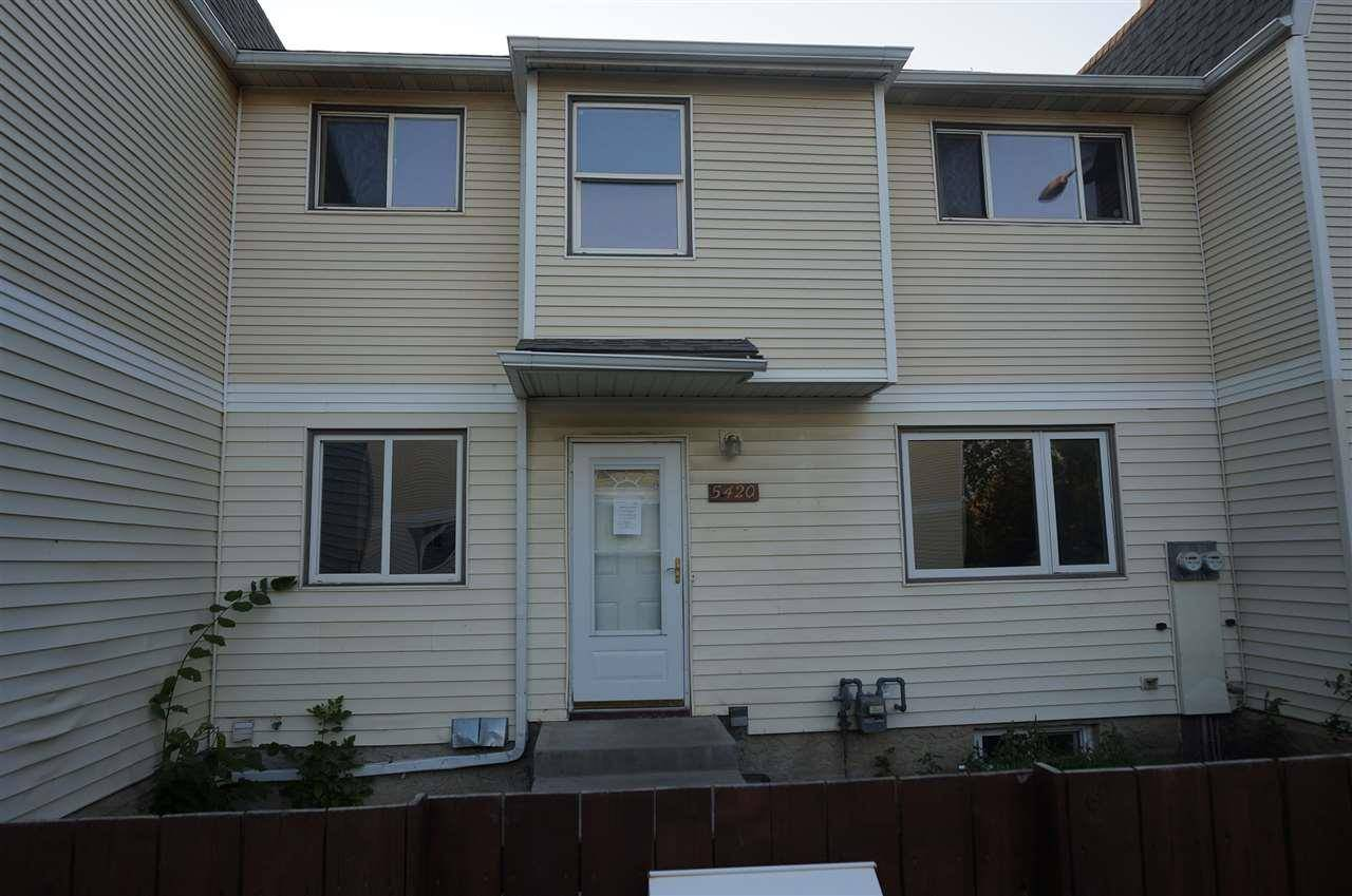 Townhouse for sale at 5420 144b Ave Nw Edmonton Alberta - MLS: E4171536