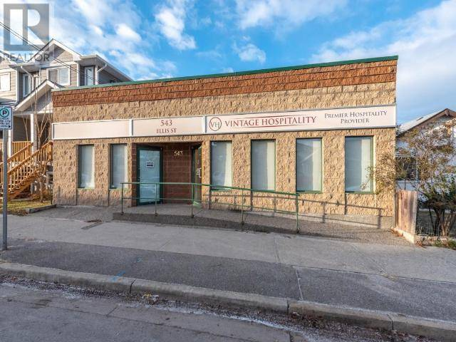 Commercial property for lease at 543 Ellis St Penticton British Columbia - MLS: 181440
