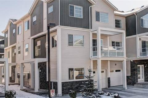 Townhouse for sale at 543 Redstone Vw Northeast Calgary Alberta - MLS: C4272784