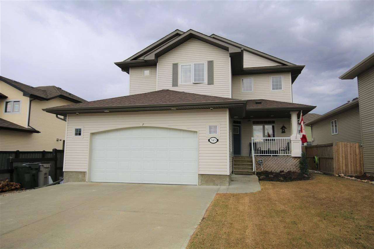 House for sale at 543 Westerra Blvd Stony Plain Alberta - MLS: E4195082