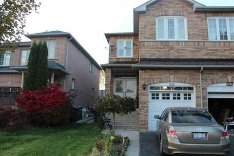 Townhouse for rent at 543 Wildgrass Rd Mississauga Ontario - MLS: W4735631