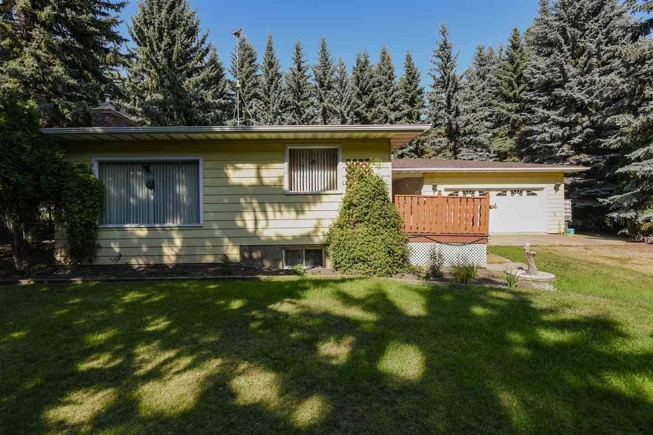 House for sale at 54305 Rr  Rural Sturgeon County Alberta - MLS: E4161542