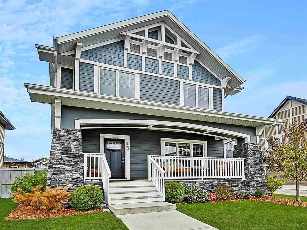 House for sale at 5431 Bonaventure Ave Nw Edmonton Alberta - MLS: E4177221