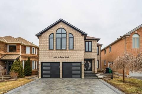House for sale at 5439 Mcfarren Blvd Mississauga Ontario - MLS: W4666411