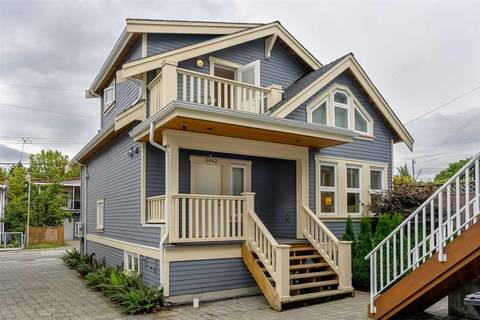 Townhouse for sale at 5442 Rhodes St Vancouver British Columbia - MLS: R2406506