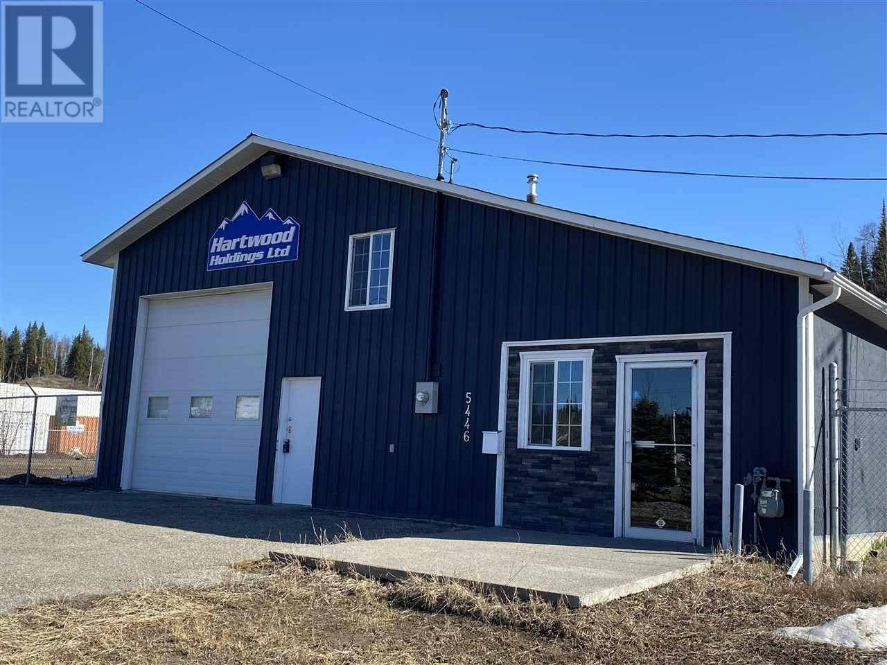 Commercial property for sale at 5446 Hartway Dr Pg City North (zone 73) British Columbia - MLS: C8030785