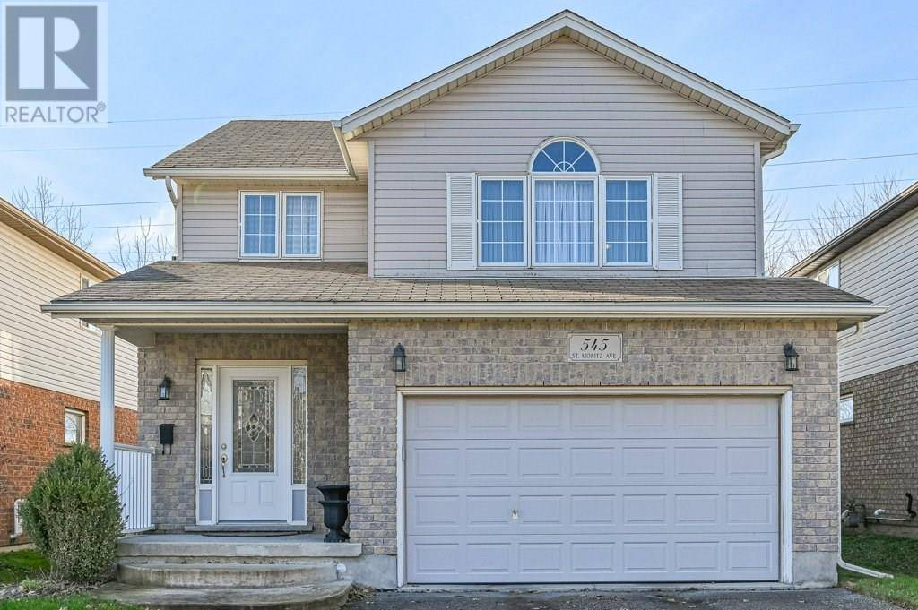 House for sale at 545 St Moritz Ave Waterloo Ontario - MLS: 30789322