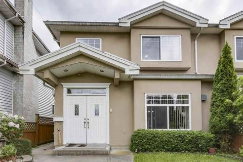 Townhouse for sale at 5452 Manor St Burnaby British Columbia - MLS: R2358736