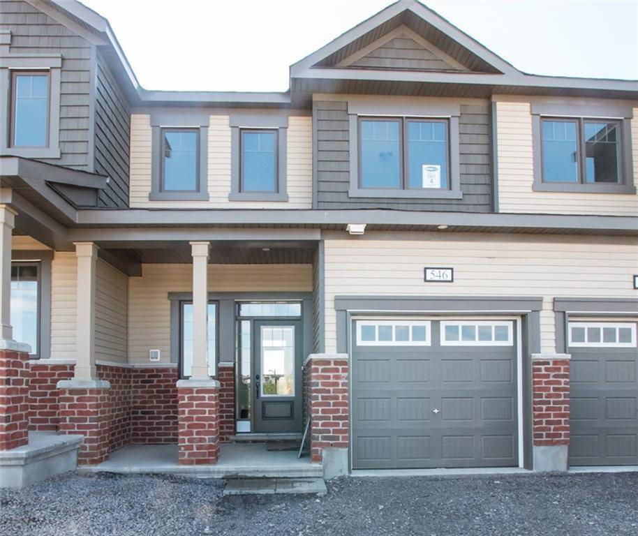 Townhouse for rent at 546 Cope Dr Ottawa Ontario - MLS: 1167938