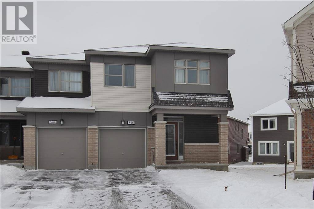 Townhouse for sale at 546 Roundleaf Wy Ottawa Ontario - MLS: 1179046
