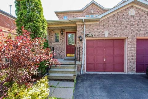 Townhouse for sale at 5462 Palmerston Cres Mississauga Ontario - MLS: W4519128