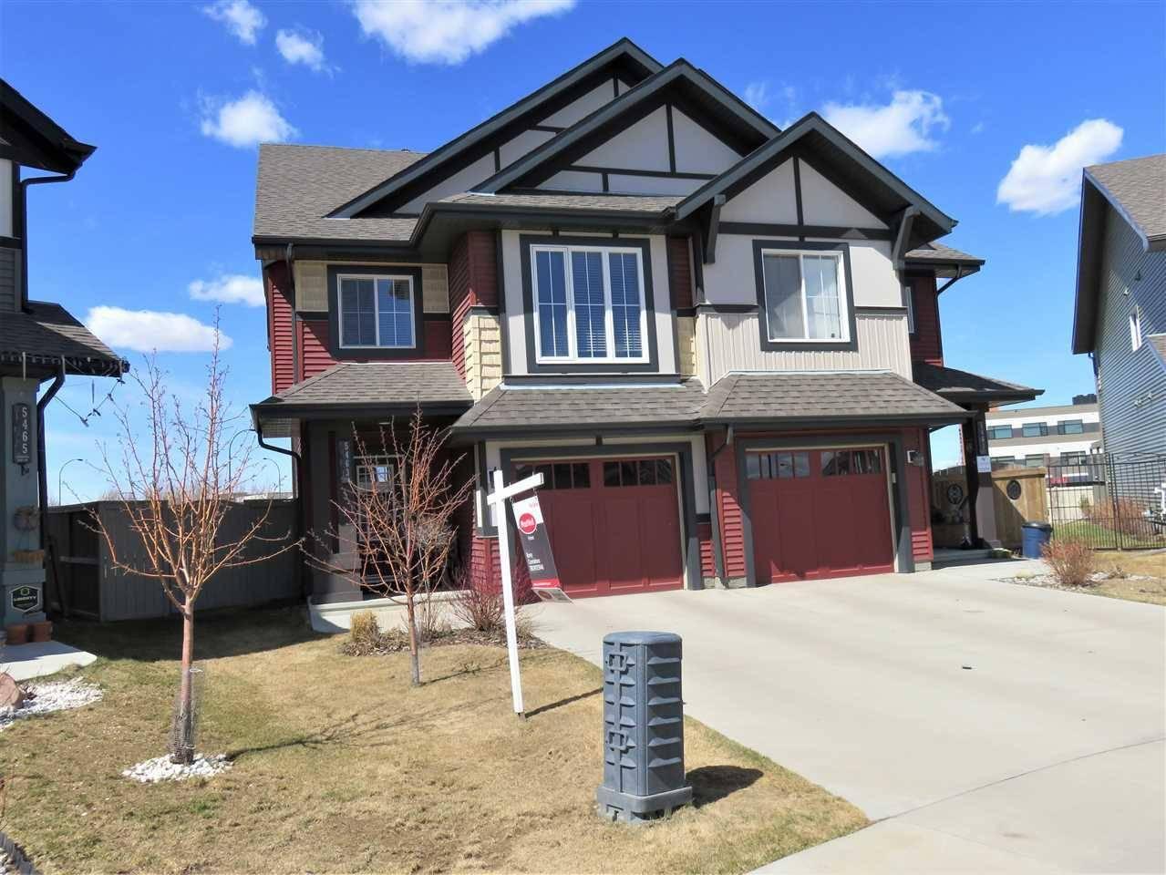 Townhouse for sale at 5463 Crabapple Lo  Sw Edmonton Alberta - MLS: E4185236