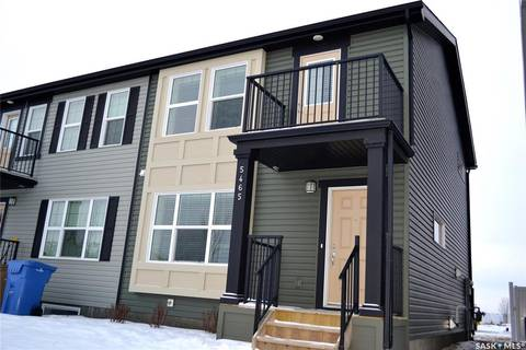 Townhouse for sale at 5465 Cade St E Regina Saskatchewan - MLS: SK790057