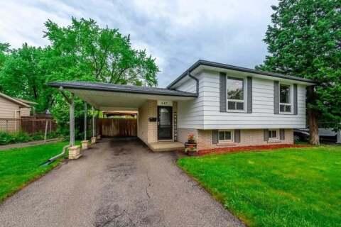 House for sale at 547 Chamberlain Rd Burlington Ontario - MLS: W4778268