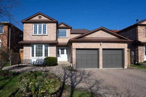 House for sale at 547 Dahlia Cres Pickering Ontario - MLS: E4424035