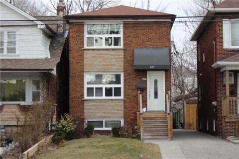 Townhouse for sale at 547 Donlands Ave Toronto Ontario - MLS: E4826550