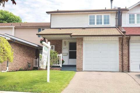 Townhouse for sale at 547 Dorchester Dr Oshawa Ontario - MLS: E4780401