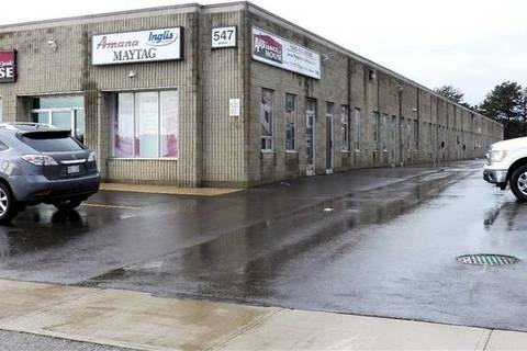 Commercial property for lease at 547 Main St Milton Ontario - MLS: W4567552