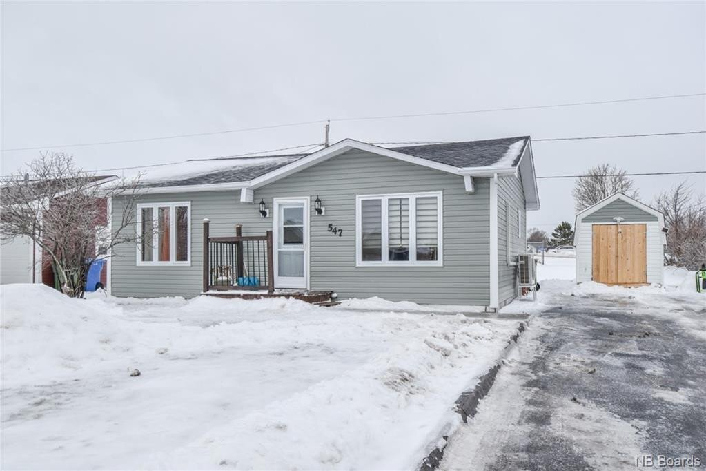 House for sale at 547 Savoie St Tracadie New Brunswick - MLS: NB052688