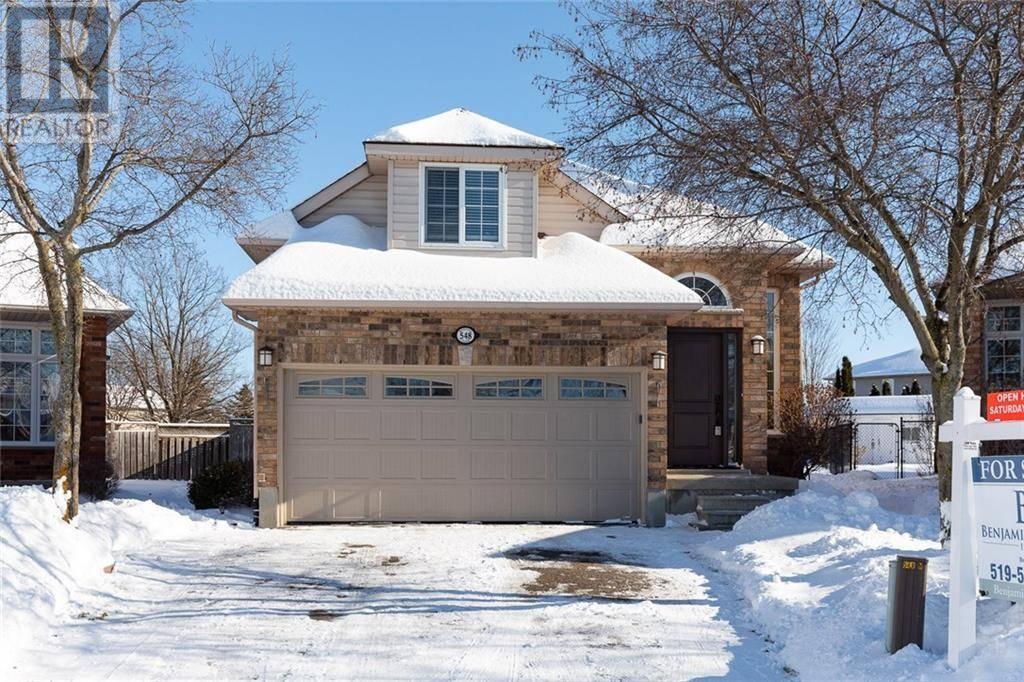 House for sale at 548 Mustang Pl Waterloo Ontario - MLS: 30785006
