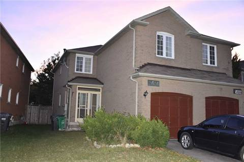 Townhouse for rent at 5484 Cosmic Cres Mississauga Ontario - MLS: W4584487
