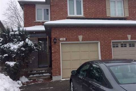 Townhouse for rent at 5484 Richmeadow Me Mississauga Ontario - MLS: W4509632