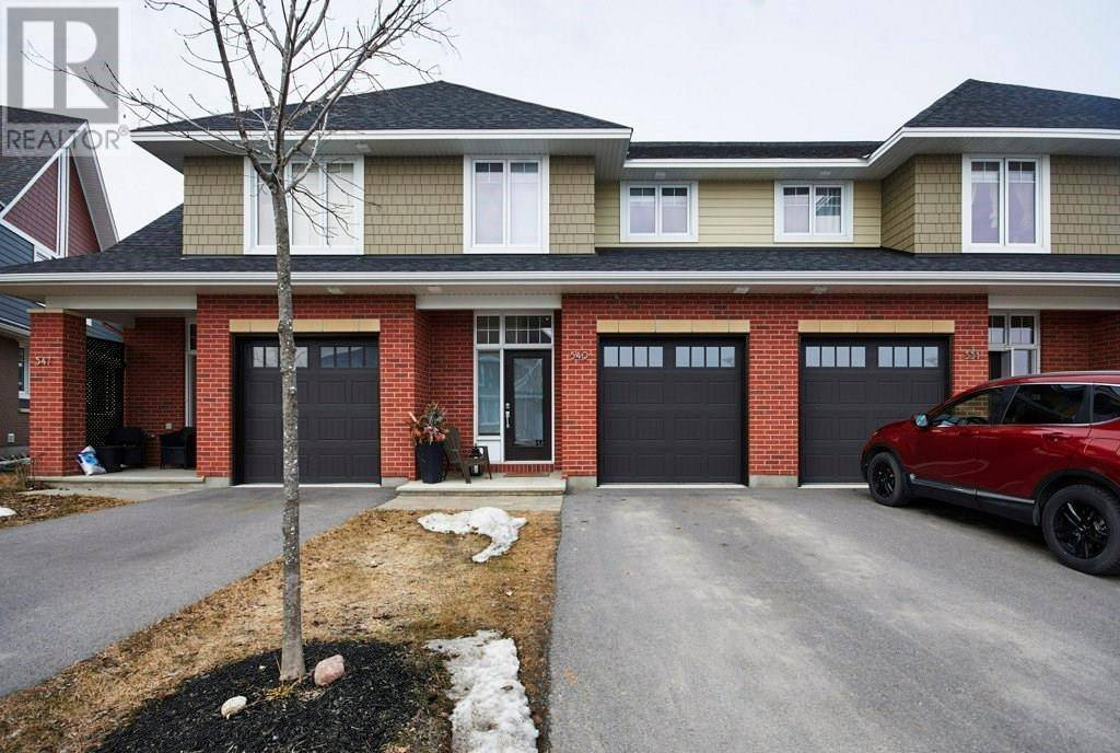 Townhouse for sale at 549 Kilspindie Rdge Ottawa Ontario - MLS: 1186853