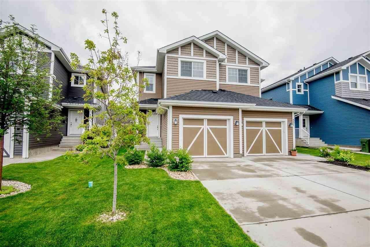 Townhouse for sale at 549 Sturtz Li Leduc Alberta - MLS: E4204451
