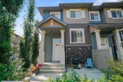 Townhouse for sale at 1030 Chappelle Blvd Sw Unit 55 Edmonton Alberta - MLS: E4148291