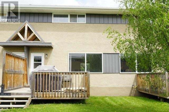 Townhouse for sale at 114 Hardisty Ave Unit 55 Hinton Valley Alberta - MLS: 52621