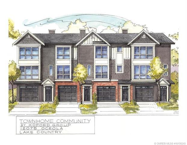 For Sale: 12075 Oceola Road, Lake Country, BC   3 Bed, 3 Bath Townhouse for $449,000. See 4 photos!