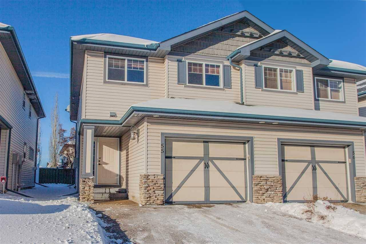 Townhouse for sale at 2565 Hanna Cres Nw Unit 55 Edmonton Alberta - MLS: E4185065