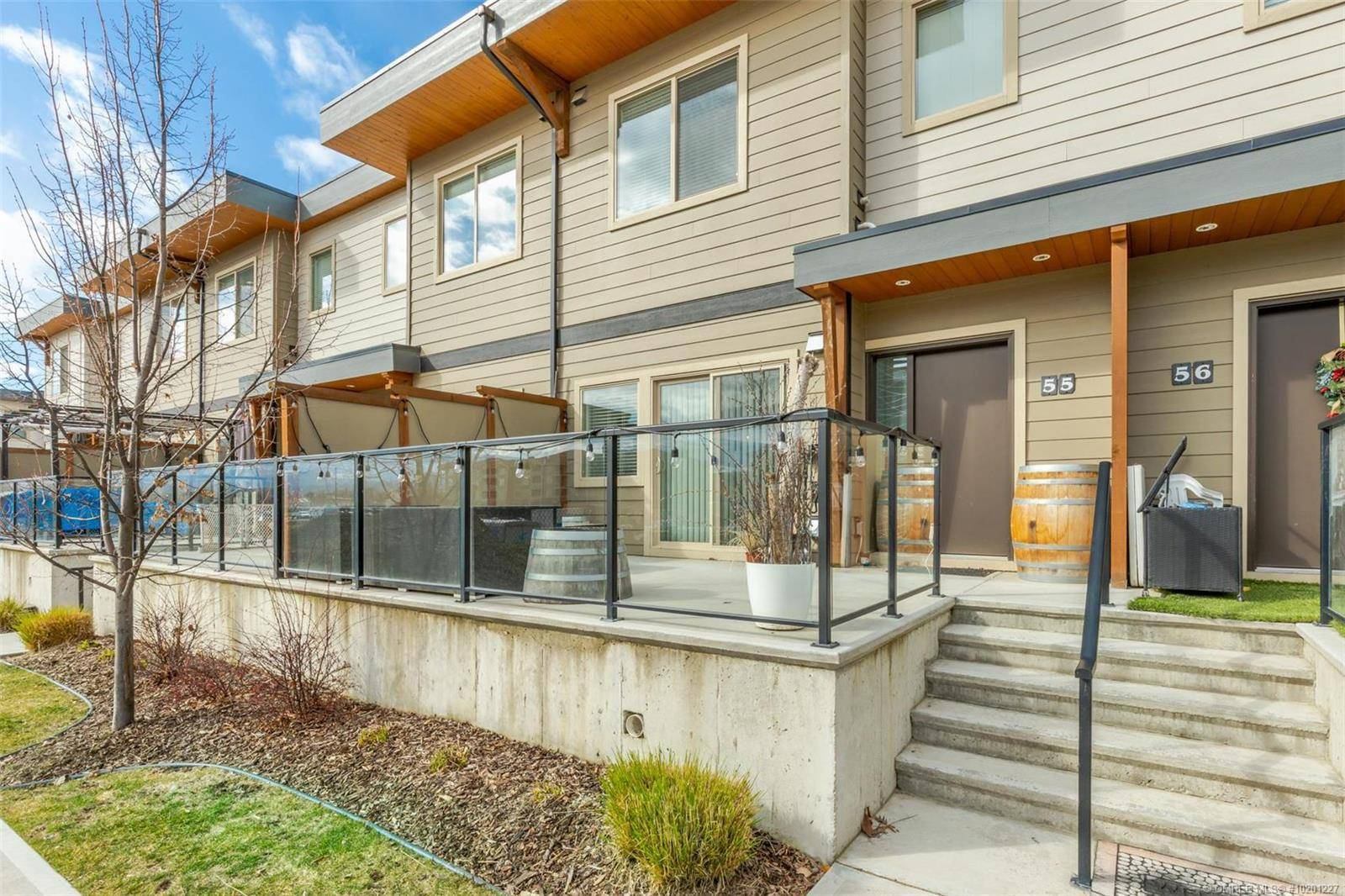Townhouse for sale at 3626 Mission Springs Dr Unit 55 Kelowna British Columbia - MLS: 10201227