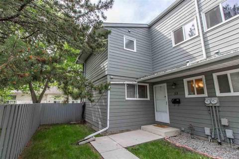 Townhouse for sale at 4610 17 Ave Nw Unit 55 Edmonton Alberta - MLS: E4162065
