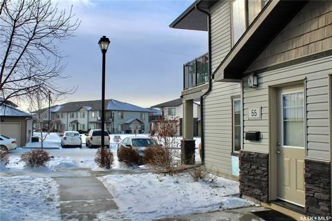Townhouse for sale at 5031 James Hill Rd Unit 55 Regina Saskatchewan - MLS: SK798343
