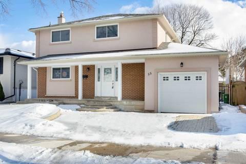 House for sale at 55 Amberjack Blvd Toronto Ontario - MLS: E4446437