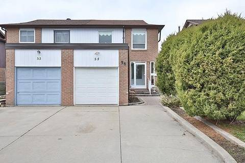 Townhouse for rent at 55 Barrington Cres Markham Ontario - MLS: N4502100