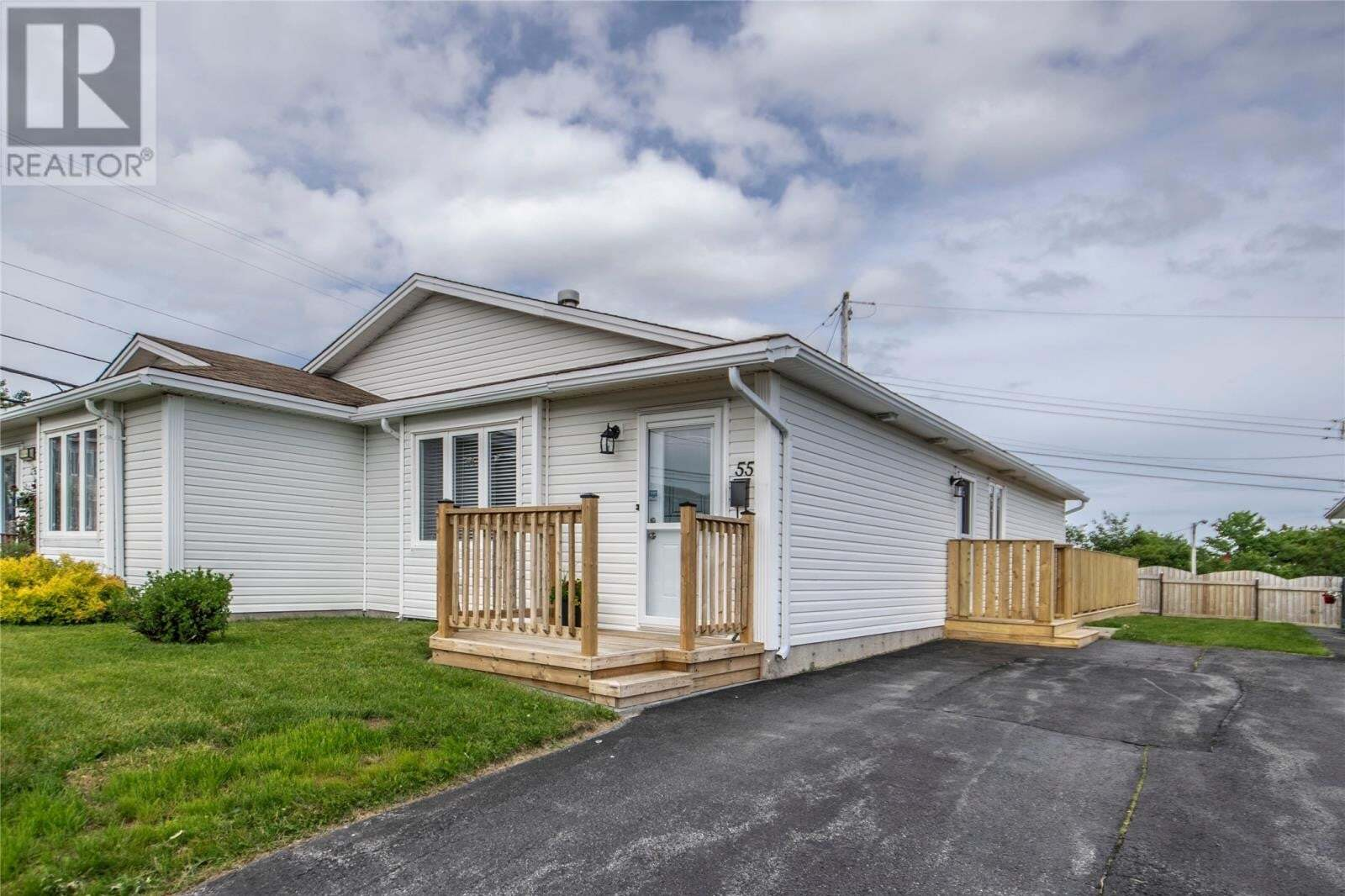 House for sale at 55 Clover Brae Cres Mount Pearl Newfoundland - MLS: 1217645