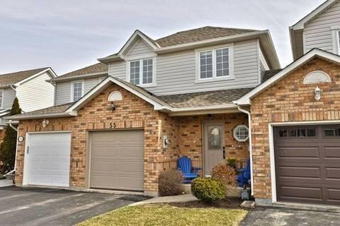 Townhouse for sale at 55 Kildonan Cres Hamilton Ontario - MLS: X4424714