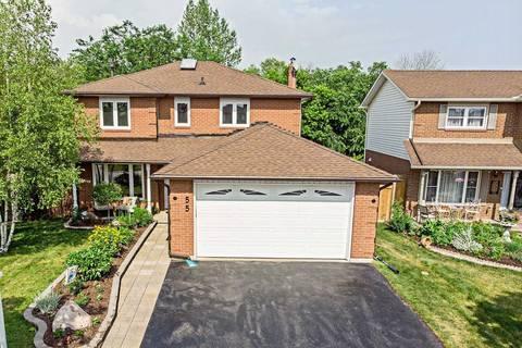 House for sale at 55 Soper Creek Dr Clarington Ontario - MLS: E4522720