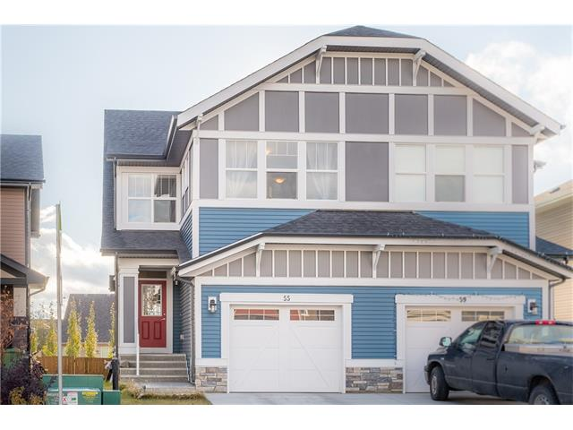 For Sale: 55 Sunrise View, Cochrane, AB | 3 Bed, 3 Bath Townhouse for $389,900. See 14 photos!