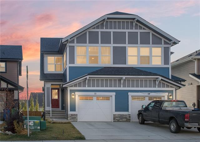 For Sale: 55 Sunrise View, Cochrane, AB | 3 Bed, 3 Bath Townhouse for $389,900. See 15 photos!