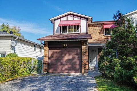 Townhouse for sale at 55 Tuscarora Dr Toronto Ontario - MLS: C4592307