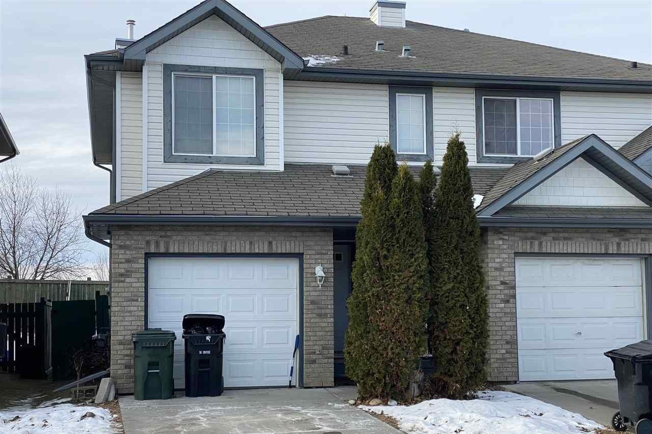 Townhouse for sale at 55 Ventura St Spruce Grove Alberta - MLS: E4224728